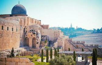 Wallpapers Israel Jerusalem Temples Cities