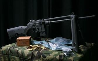Machine Gun With Bullets HD Wallpaper   StylishHDWallpapers