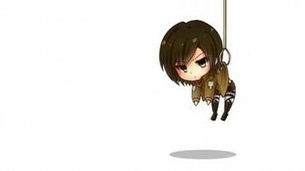 Chibi Cute Attack on Titan Shingeki no Kyojin Girl Anime HD Wallpaper