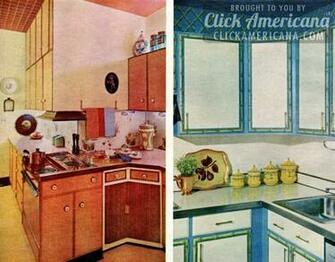 Glam up your kitchen with sixties style   Click Americana