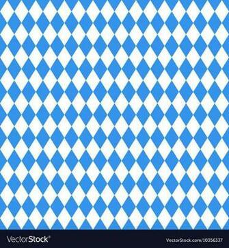 Oktoberfest blue rhombus background Royalty Vector