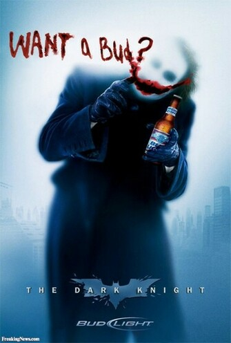 Dark Knight   Bud Light   pictures