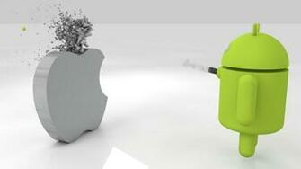 Apple Vs Android Wallpaper Awesome Pictures 14b652m2 Yoanu