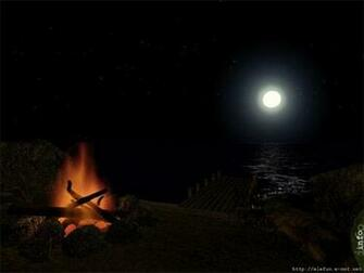 Midnight Fire   Animated Desktop Wallpaper Screenshot   Midnight Fire