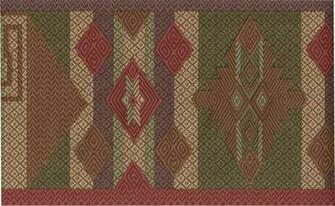 Southwestern Design Indian Geometric Wall paper Border eBay