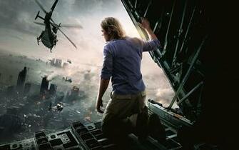 Brad Pitt World War Z Movie Wallpapers HD Wallpapers