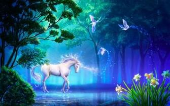 Unicorn Horse Greek Mythology HD Wallpaper Desktop Background