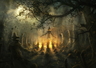 the collection of 30 Halloween HQ Wallpapers for your Desktop