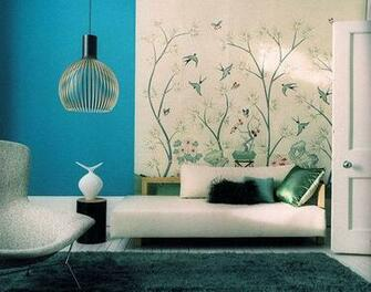 Bird wallpaper by Emma Thomas Image from Apartment Therapy
