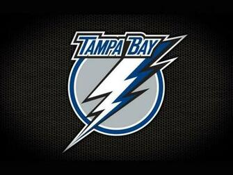 Hockey Goalie Tampa Bay Lightning Logo Black Wallpaper HQ Backgrounds
