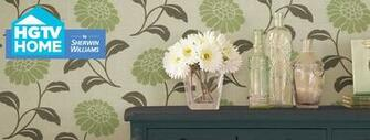 HGTV HOME by Sherwin Williams Urban Organic Wallpaper Collection