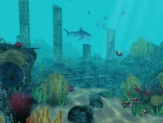 Underwater 3D Aquarium Wallpaper