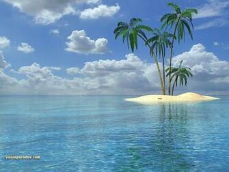 FULL WALLPAPER tropical island wallpaper