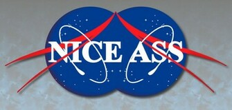 Nasa Logo Wallpaper Nasa logo parody by dfksone
