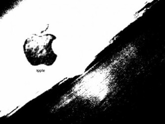 Apple Wallpapers Black And White Desktop For Apple Leopard On Mac