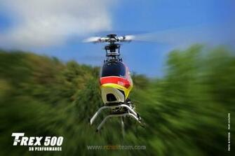RC Heli Team Wallpapers Align T REX 500