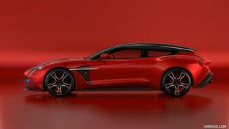 2018 Aston Martin Vanquish Zagato Shooting Brake   Side HD