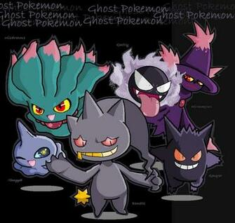 All Ghost Pokemon Ghost