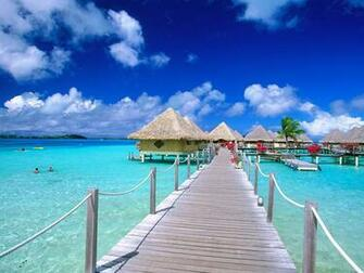 Nature Wallpaper   Bora Bora Beach Wallpaper Nature