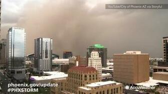 Monster haboob covers Phoenix in dust abc13com
