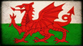 Download 1366x768 Flag Of Wales Wallpaper