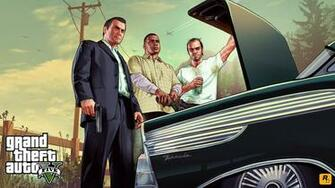 GTA V 1080p Wallpapers Released Urban Decay