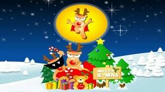 Xmas Cartoon Wallpaper photos Download Funny Christmas Wallpaper