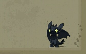 toothless how to train your dragon stitch 1680x1050 wallpaper Art HD