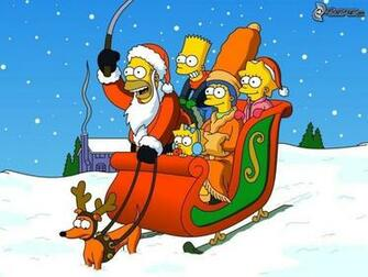 Free download Simpsons Christmas Wallpapers 1024x768 for ...