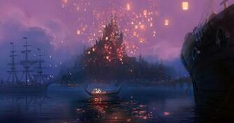 Castle Concept Art from Disneys Tangled Desktop Wallpaper