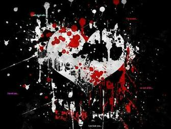 Emo Heart Wallpaper Emo Wallpapers of Emo Boys and Girls