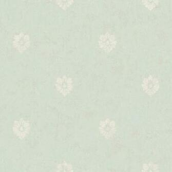 Blue Velvet Floral Spot Wallpaper   Wall Sticker Outlet