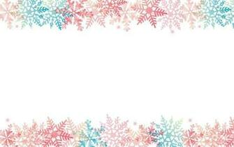 Free download Retro ornaments and snow Cute Christmas