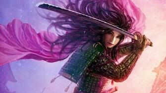 Women abstract samurai wallpaper 1920x1080 252610 WallpaperUP