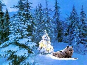Download Christmas Animals wallpaper christmas wallpaper wolf