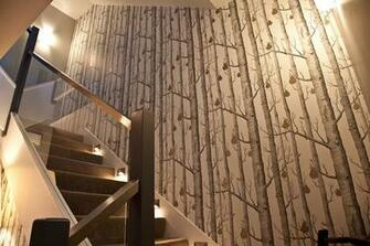 Birch Bark   Wallpaper Installation Vancouver BC