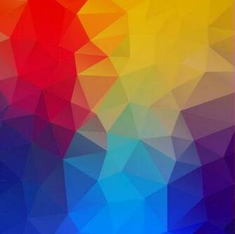 Abstract Geometric Shapes Colorful Background Vector Illustration