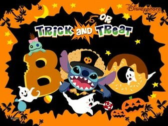 Stitch Halloween Wallpaper   Lilo Stitch Wallpaper 2428485