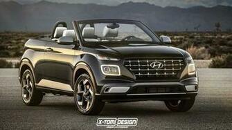 Hopefully Venue Cabrio Render Wont Give Hyundai Any Ideas