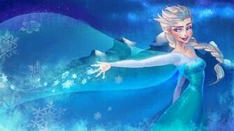 Frozen Elsa Anna Digital Fan Art Wallpapers