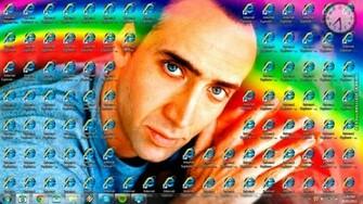 Funny Picture   Nicolas Cage and Internet Explorer desktop
