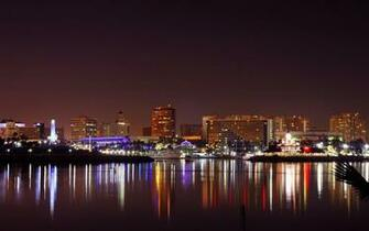 Download wallpaper 1440x900 usa california long beach city