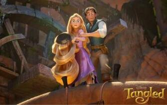 Desktop Wallpaper Disney Tangled Wallpaper