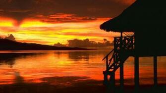 Beautiful Wallpapers beach sunset wallpaper