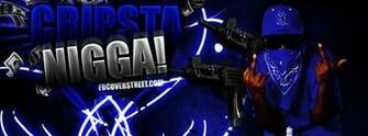 Gangster Disciple Black Bandana Cripsta Nigga