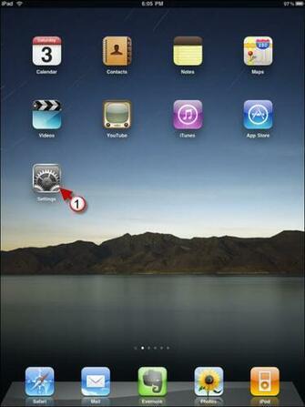 Change the iPads Wallpaper how to change ipad wallpaper1a iPad
