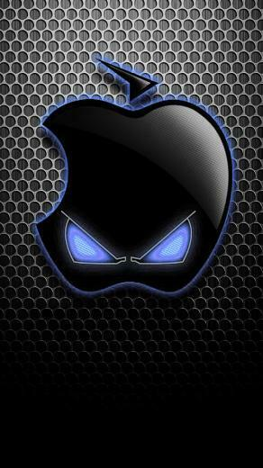 black mad cat Black Wallpaper Iphone