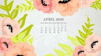 download Monthly 2020 Desktop Calendar Wallpaper [1024x576