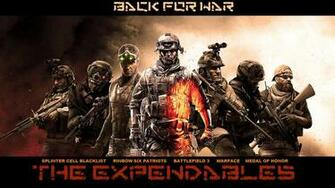 Download awesome hd expendables video game HD wallpaper