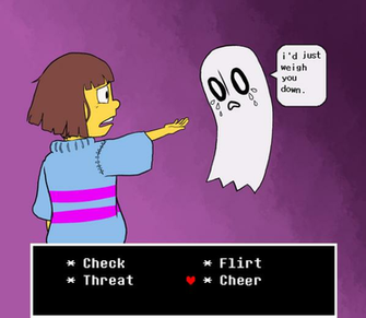 Undertale Sad Ghost by Leemak